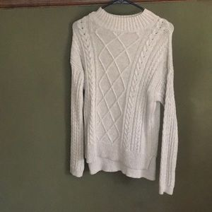 Faux turtle neck sweater